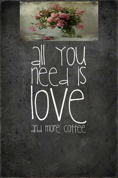 Coffee and roses 2