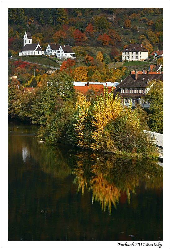 autumn in forbach germany