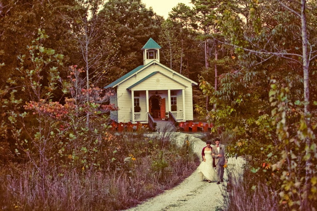 fall wedding chapel