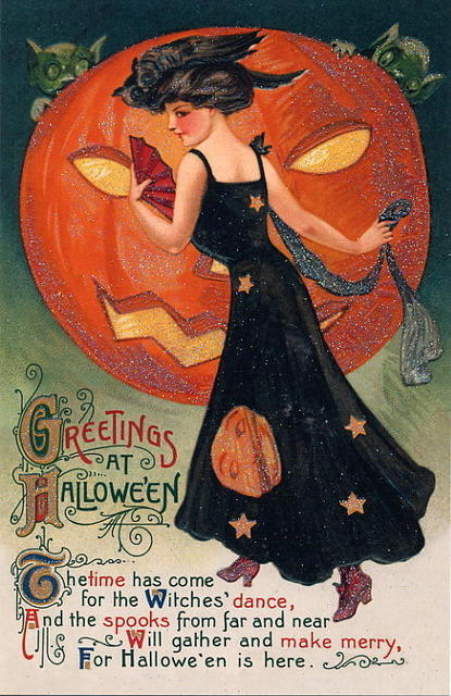 greetings at halloween