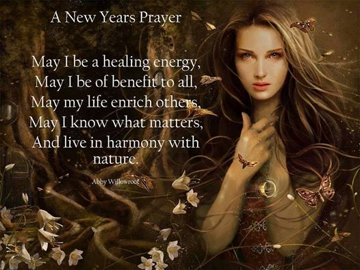 A new years prayer