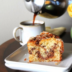 coffee and coffee cake